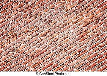 磚, 紅色, 圖案