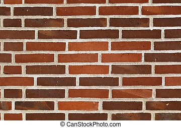 磚, 結構, 紅色的牆