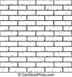 磚, wall., texture., seamless