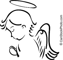 祈禱, 天使