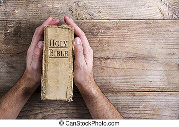 祈禱, 聖經, 手