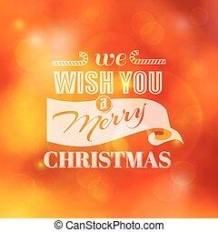 祝賀, -, calligraphic, 邀請, 矢量, 圣誕節卡片