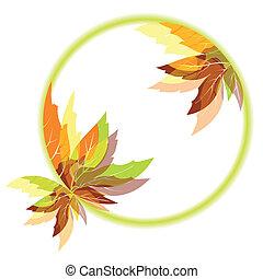 秋天, 摘要, 離開, 背景