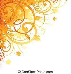秋天, 角落, 設計