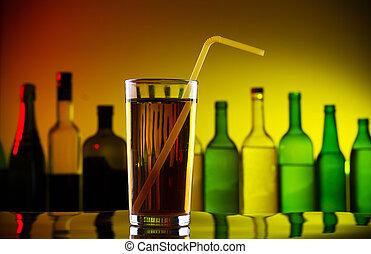 秸桿, 酒吧, 酒精, 雞尾酒