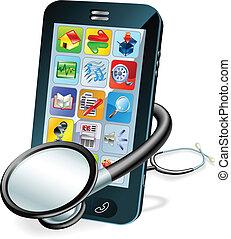 移動電話, 概念, 身體檢查