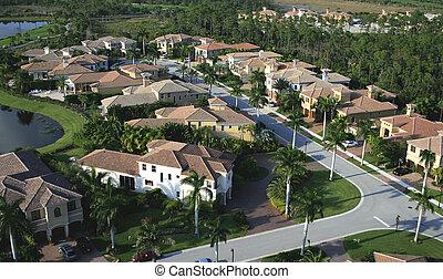 空中, 鄰近地區, 佛羅里達, 天橋