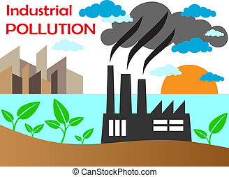 空氣, 工廠, 污染