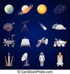 空間, 集合, 勘探, 圖象, 套間