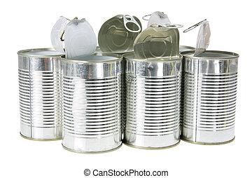 空, 罐頭, 錫