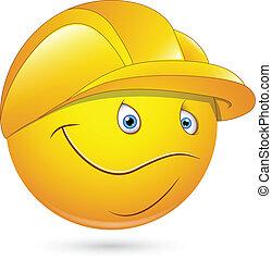 笑臉符, 工人, constructional