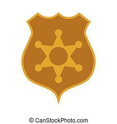 符號, 徽章, 郡長