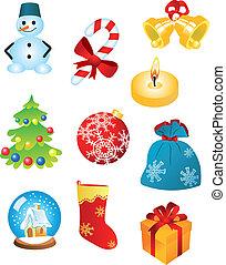 符號, 聖誕節, 圖象