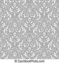 第一流, 圖案, 牆紙, -, seamless, 植物