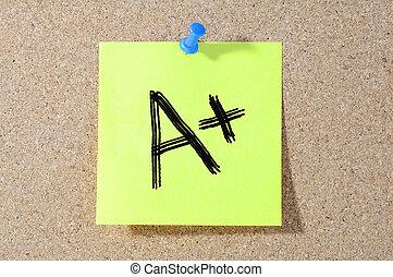 等級, a+, 測試, paper., 寫