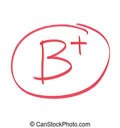 等級, b, 加上