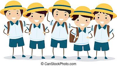 等級, schoolers, 日語
