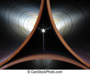管子, 對稱性