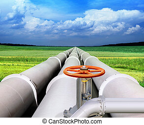 管道, gas-transmission