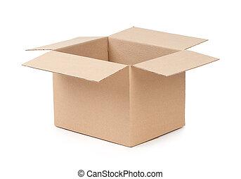 箱子, 包裹, 打開