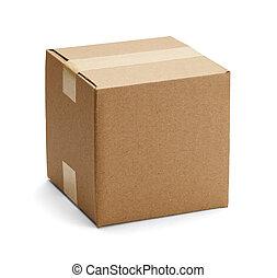 箱子, 布朗, 紙板