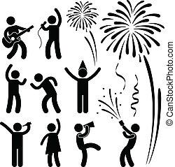 節日, 黨, 事件, 慶祝