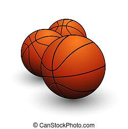 籃球顏色, 符號, 球, 橙, 運動