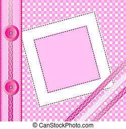 粉紅色, 影集蓋子