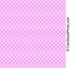粉紅色, 网, 圖案, ligh, seamless, halftone, design.