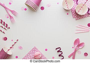 粉紅色, 黨, 背景