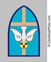 精神, 神圣, 教堂, 鴿, 產生雜種