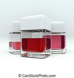 紅色, 液体