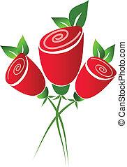 紅色 玫瑰