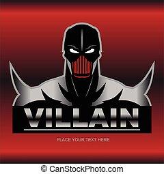 紅色, villain., 金屬, 偉大
