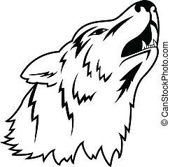 紋身, 狼