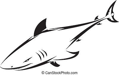 紋身, 鯊魚