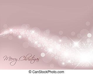 紫色, 光, 摘要, 聖誕節, 背景