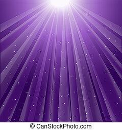 紫色, 發光, 光線, 背景