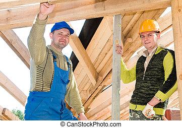 組, roofers