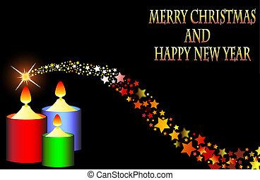 結婚, 年, 2015, 新, 聖誕節, 愉快