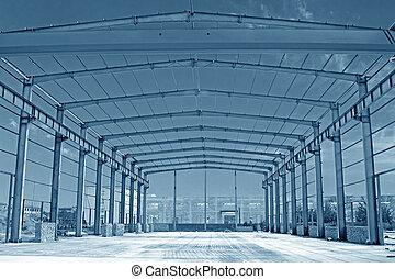 結构, 鋼, 框架