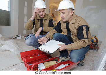 給, 雇員, 建造者, 指示
