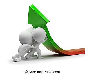 統計數字, 人們, -, 改進, 小, 3d