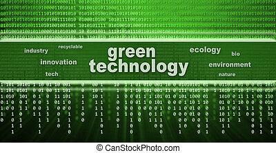 綠色, 概念, 技術