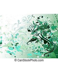 綠色, 設計