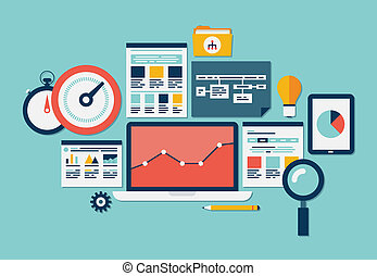 網站, seo, analytics, 圖象