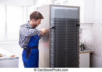 總的來說, 軍人, 工作, 冰箱