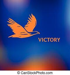 繪, 銀, 符號, brush., freedom., 坡度, 高飛, 標識語, 偉大, 鳥, sky., color., 鷹, 胜利, 黑色的背景, 海報, 鷹, 黑色半面畫像, 犧牲品, 紅色