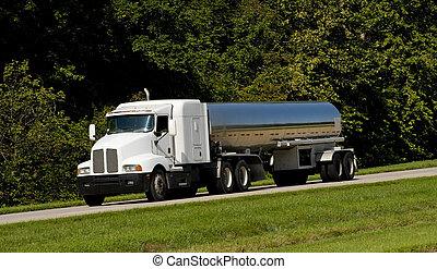 罐車, 運輸, 燃料