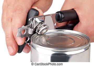 罐頭能, 打開